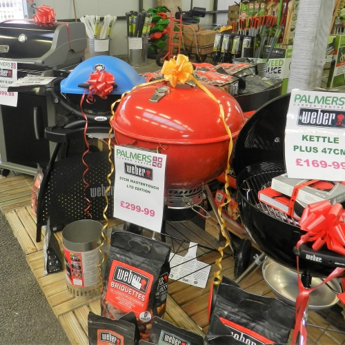 Selected Weber BBQs and Accessories Half Marked Price