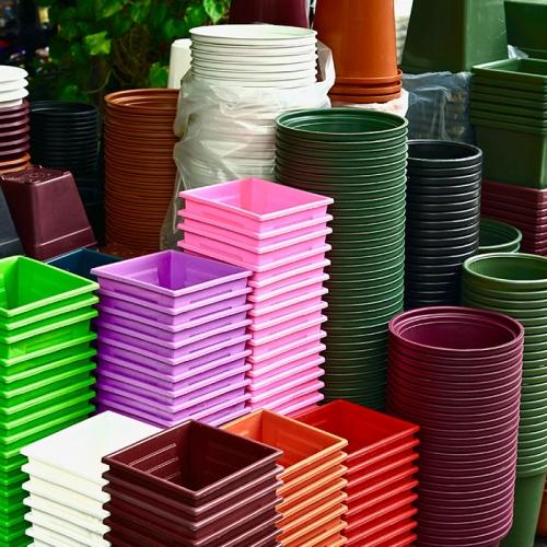 Stewart Pots essentials planters, 27, 33,39 cms buy one get one free